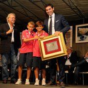 FISCHIETTO D'ARGENTO - Januca Sacchi (C.A.N.) Ritira il premio dell'edizione 2015