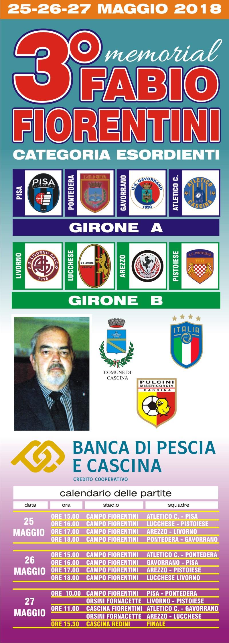 locandina fiorentini-2018