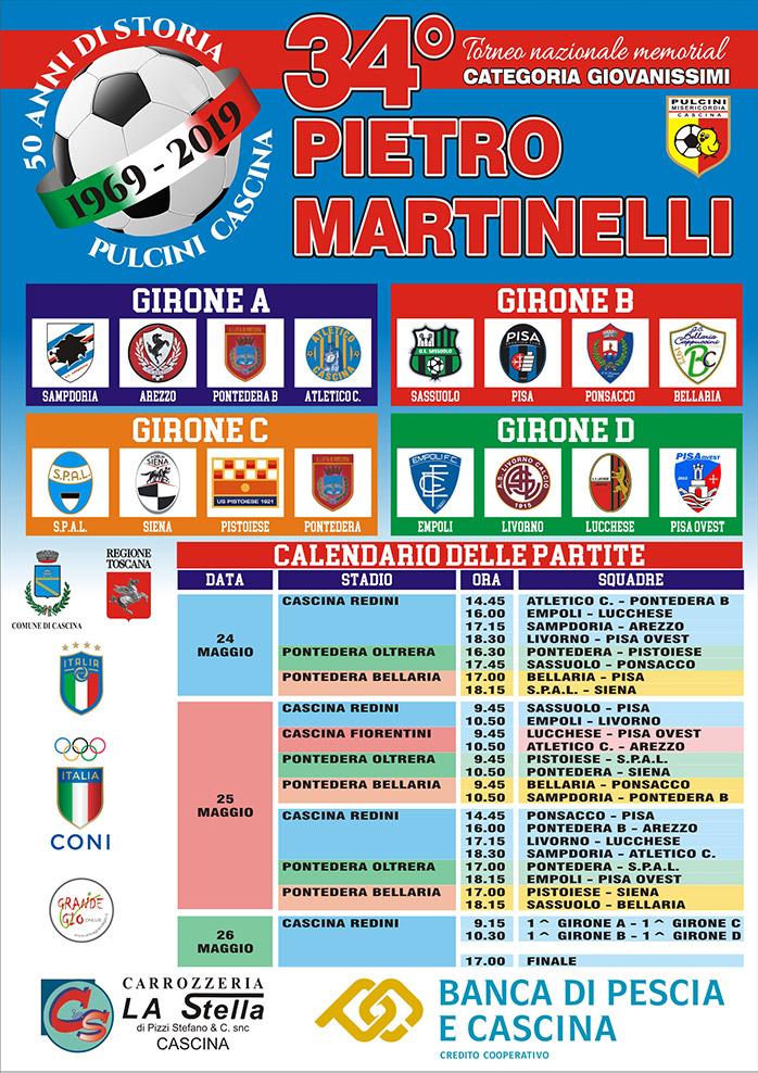 Locandina Martinelli 2019