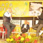 MICROFONO D'ARGENTO A MARTINA ANGELINI (GIORNALISTA LA 7)