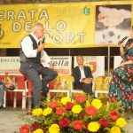MICROFONO D'ARGENTO A ROBERTA NOE' (GIORNALISTA SKY SPORT)